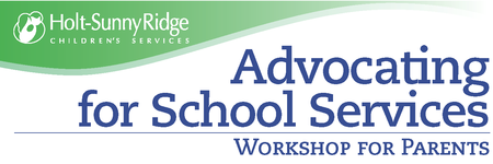 Advocating for School Services: Workshop for Parents