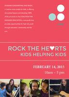 ROCK THE HE♥RTS: Kids helping Kids!