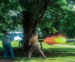 Civil War Camp, Battle & Military Ball