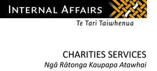 Department of Internal Affairs - Charities Services  logo