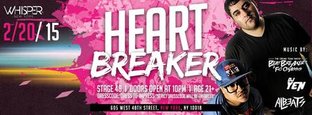 WHISPER NYC: HEART-BREAKER @ STAGE 48