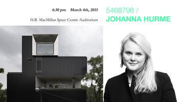 Johanna Hurme - 5468796 Architecture