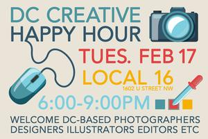 DC CREATIVE HAPPY HOUR