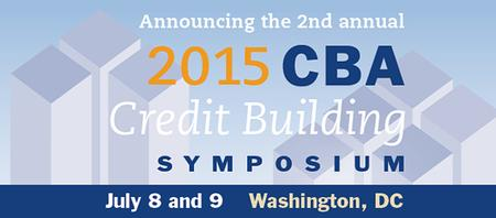 2015 CBA Credit Building Symposium