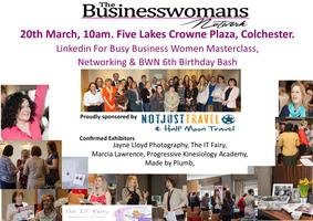 Linkedin For Busy Business Women & Big Birthday Bash