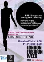 Official London Fashion Week Event supporting Globals M...