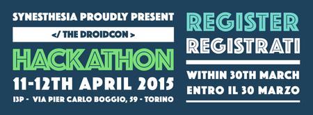 HACKATHON Droidcon Italy 2015