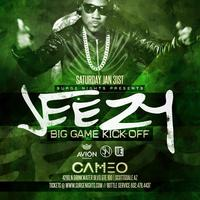Jeezy at Cameo Saturday January 31st