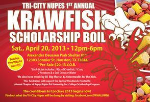 Tri-City Nupes 1st Annual Krawfish Scholarship Boil