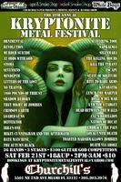 The 8th Annual Kryptonite Metal Festival