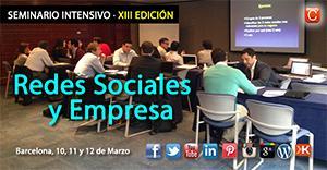 Seminario Redes Sociales y Empresa - Barcelona - 13ª...