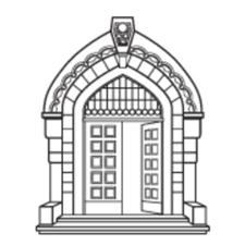 Bergen Offentlige Bibliotek logo