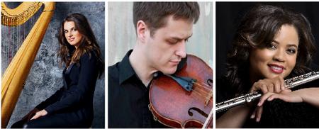 Edward T. Cone Concert Series: A Harp, a Viola, and a...
