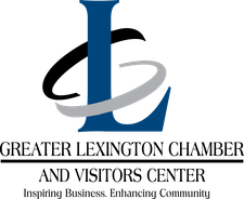 The Greater Lexington Chamber and Visitors Center logo
