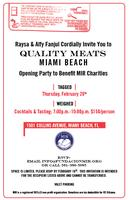 MIR Charities and Quality Meats Grand Opening Benefit P...