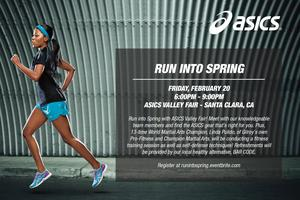 Run Into Spring with ASICS