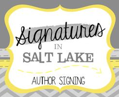 Signatures in Salt Lake Author Signing/Book Fair