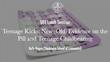 SITE Lunch Seminar with Kelly Ragan