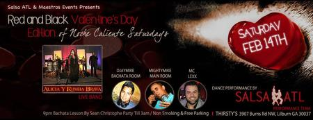 Valentines Day Salsa Dance Party - Live Music & Dancing