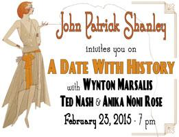 """John Patrick Shanley invites you to """"A Date With..."""