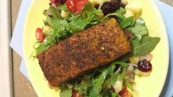 Virtual Cooking Class: Moroccan-Spiced Salmon