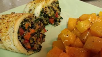 Virtual Cooking Class: Quinoa & Spinach Stuffed Sole