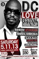 DC LOVE FEST: Raheem Devaughn, Marsha Ambrosius and more