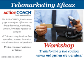 Workshop - Telemarketing Eficaz!
