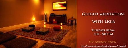 """Guided Meditation with Ligia M. Houben on """"GRATITUDE"""""""