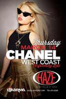 Chanel West Coast Performs Live at HAZE Nightclub