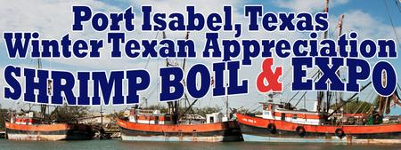 Winter Texan Appreciation Shrimp Boil & Expo