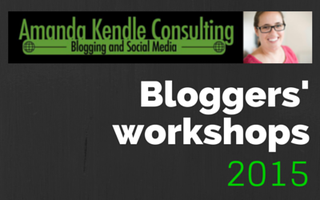 Bloggers' Workshop 3: Your blog's readers (Thursday)