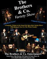The Brothers & Co. Variety Show LIVE at Jamestown...