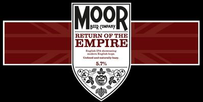 Moor Beer 'Return of the Empire' Beer launch and hop...