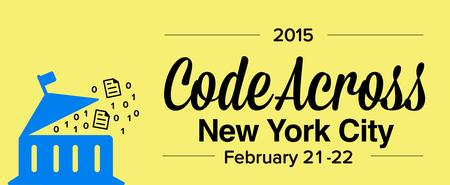 CodeAcross NYC 2015 - NYC's #OpenData & #CivicTech...