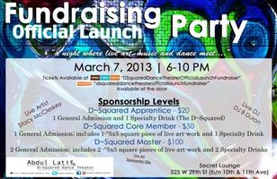 Abdul Latif & D~Squared Dance Theater: Fundraising Official...
