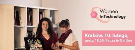 Spotkanie Women in Technology w Krakowie #10