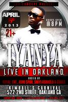 IYANYA LIVE IN OAKLAND