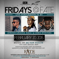 FRIDAYs @ FATE with SPECIAL LIVE PERFORMANCES