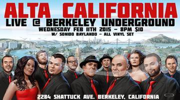 ALTA CALIFORNIA @ BERKELEY UNDERGROUND - SONIDO...