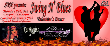 SOSF - Swing N' Blues Valentine's Dance - 2/9/15