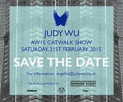 JUDY WU Autumn Winter 2015 Catwalk Show at Fashion...