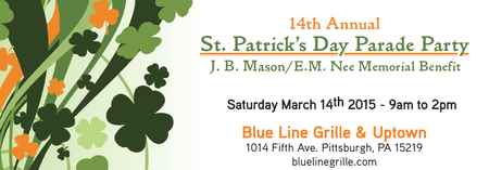 14th Annual St. Patrick's Day Parade Party - J.B....