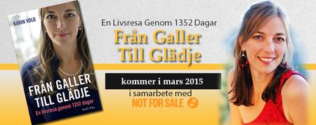 FRÅN GALLER TILL GLÄDJE Book Release Party