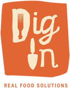 Dig In: Real Food Solutions logo