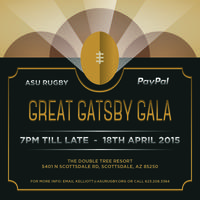 ASU Great Gatsby Gala Event- Brought to you by PayPal
