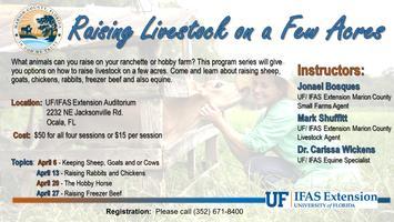 Raising Livestock on a Few Acres