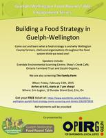 Building a Wellington-Guelph Food Strategy Movie...