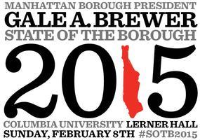 Manhattan State of the Borough 2015