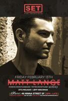 SET with Matt Lange at Harlot